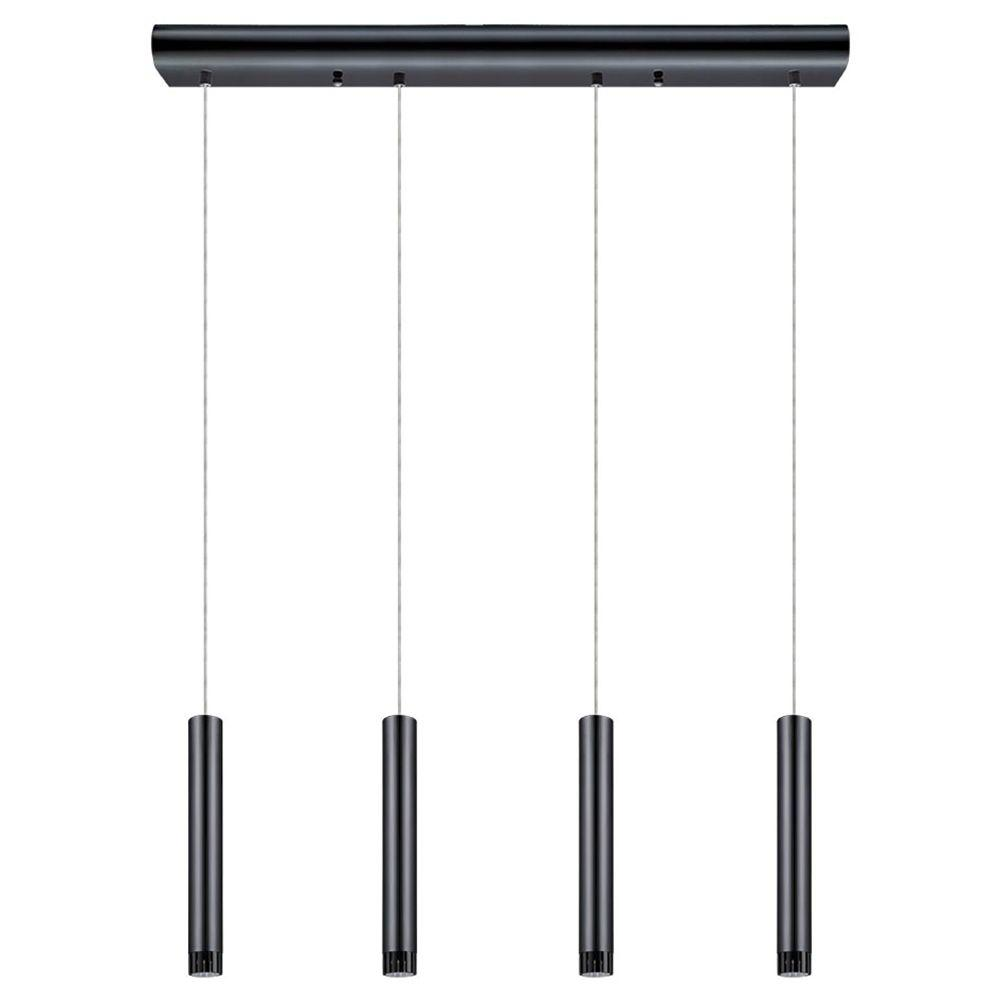 Eglo Raparo 100 Watt Black Chrome Integrated Led Pendant