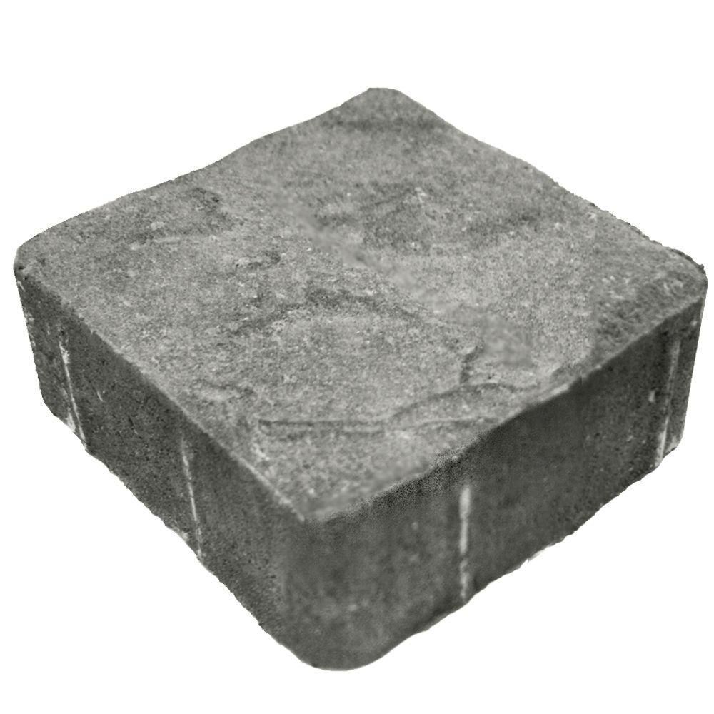 null 6 in. x 6 in. Cascade Blend Slate Concrete Paver