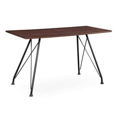 Dorian Dark Brown Black Table