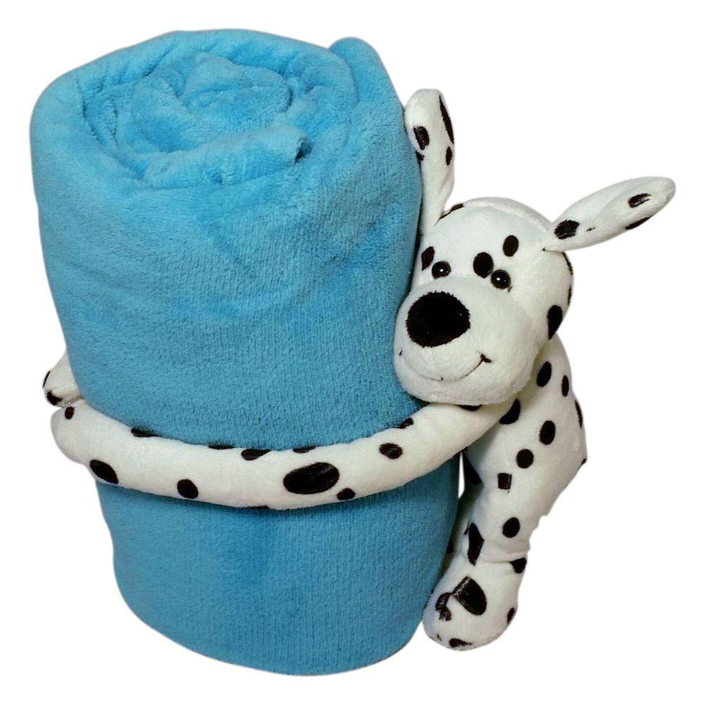 Puppy Dog Polyester Micro Plush Throw