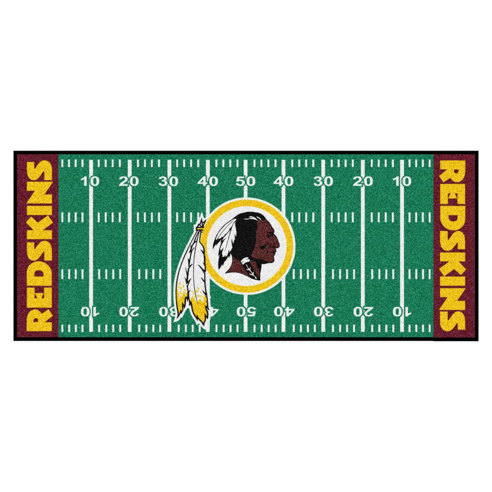 Dallas Cowboys Football Field Rug: FANMATS NFL -Washington Redskins Green 3 Ft. X 6 Ft