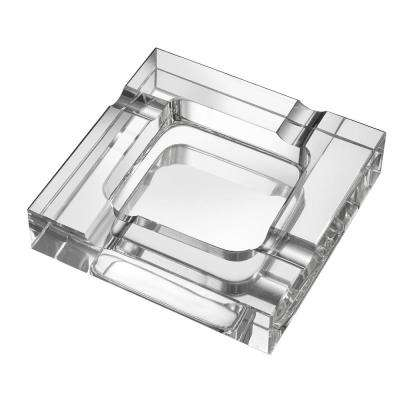 Callisto Square Crystal Cigar Ashtray