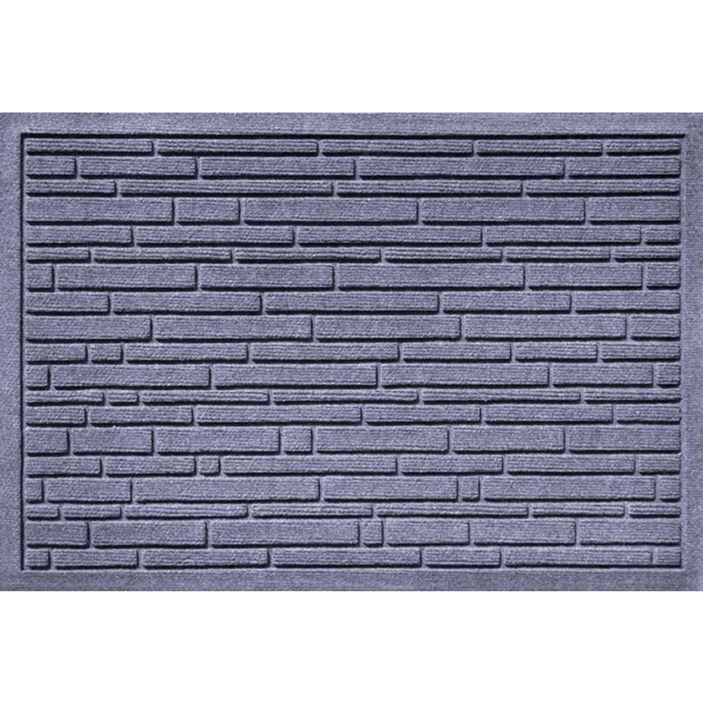Aqua Shield Broken Brick Bluestone 17.5 in. x 26.5 in. Door