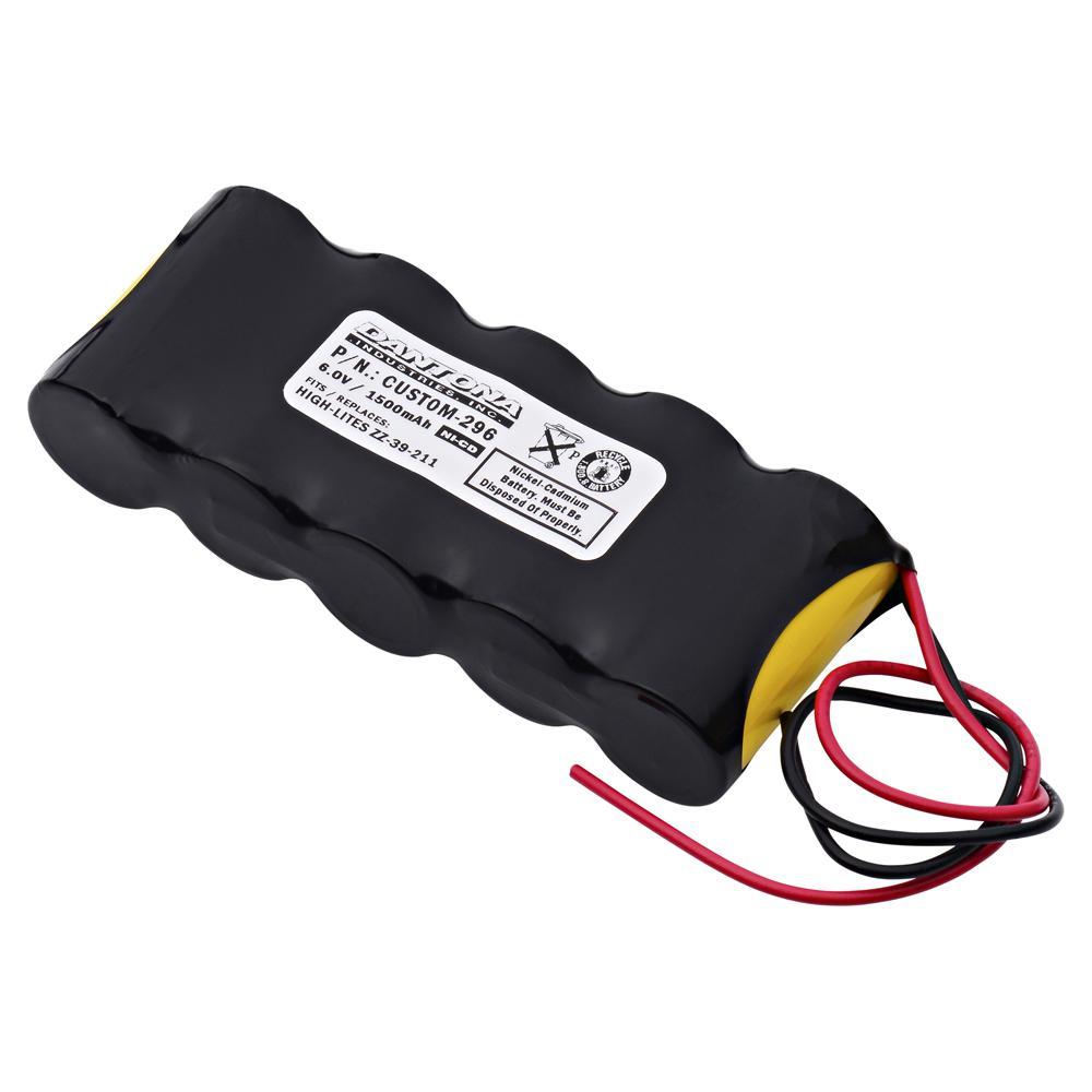 Dantona 6-Volt 1500 mAh Ni-Cd battery for High-Lites - ZZ-39-211 Emergency Lighting