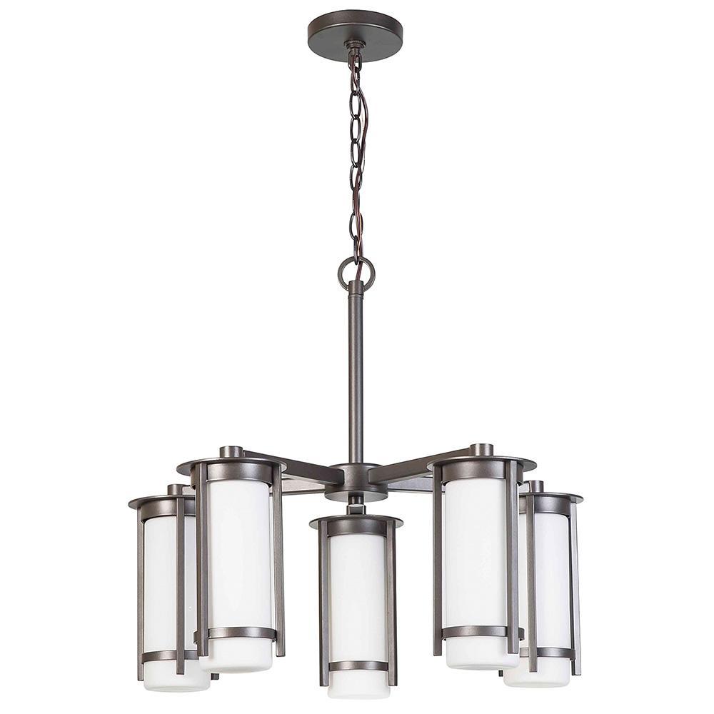 Truxton 5-Light Graphite Chandelier