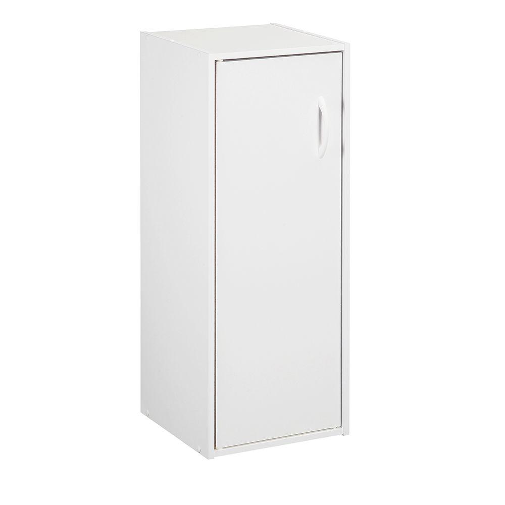ClosetMaid 12 in. x 31.5 in. White Stackable 1-Cube Door Organizer