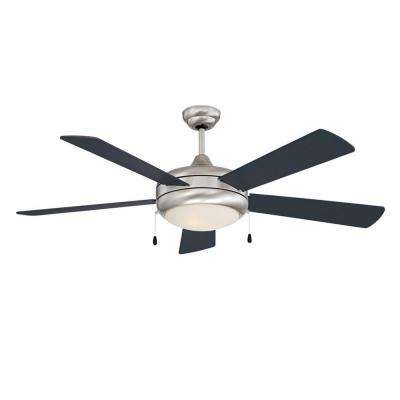 Saturn-EX Series 52 in. Indoor Stainless Steel Ceiling Fan