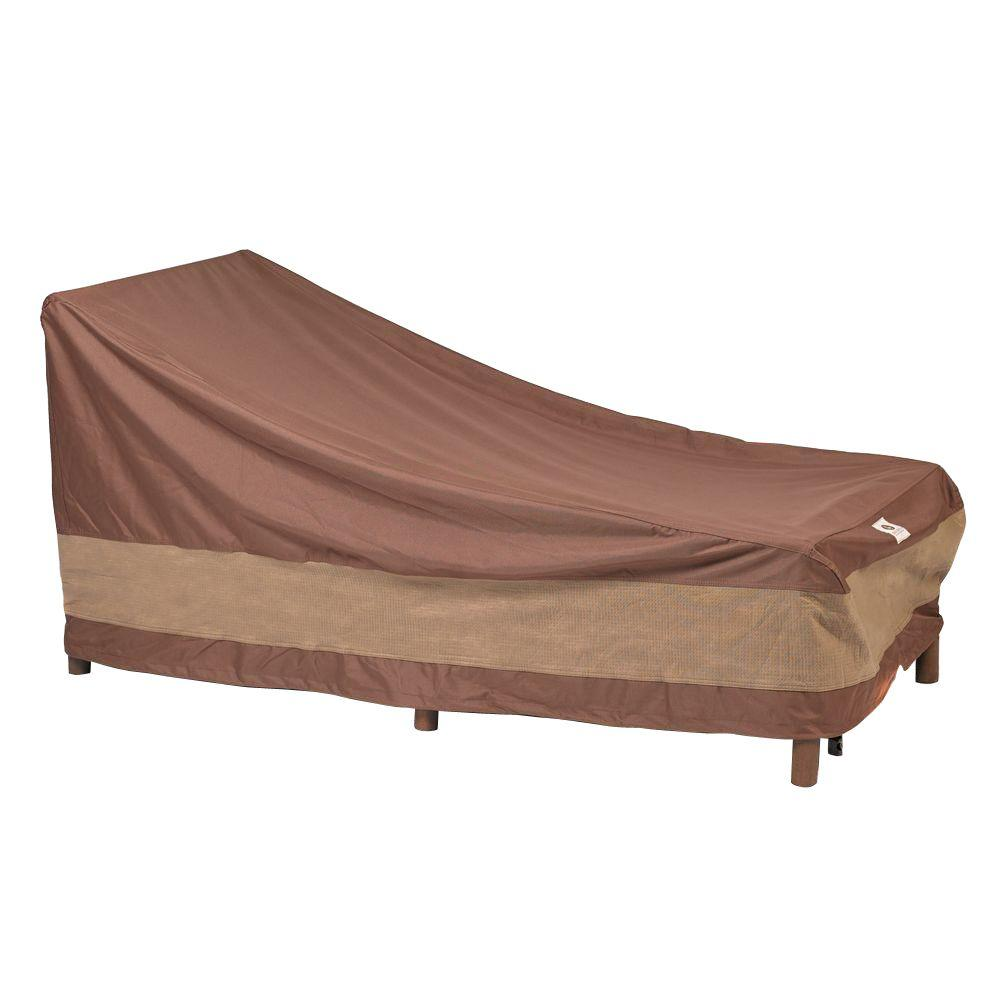 Duck covers ultimate 86 in l patio chaise lounge cover for Chaise lounge covers waterproof
