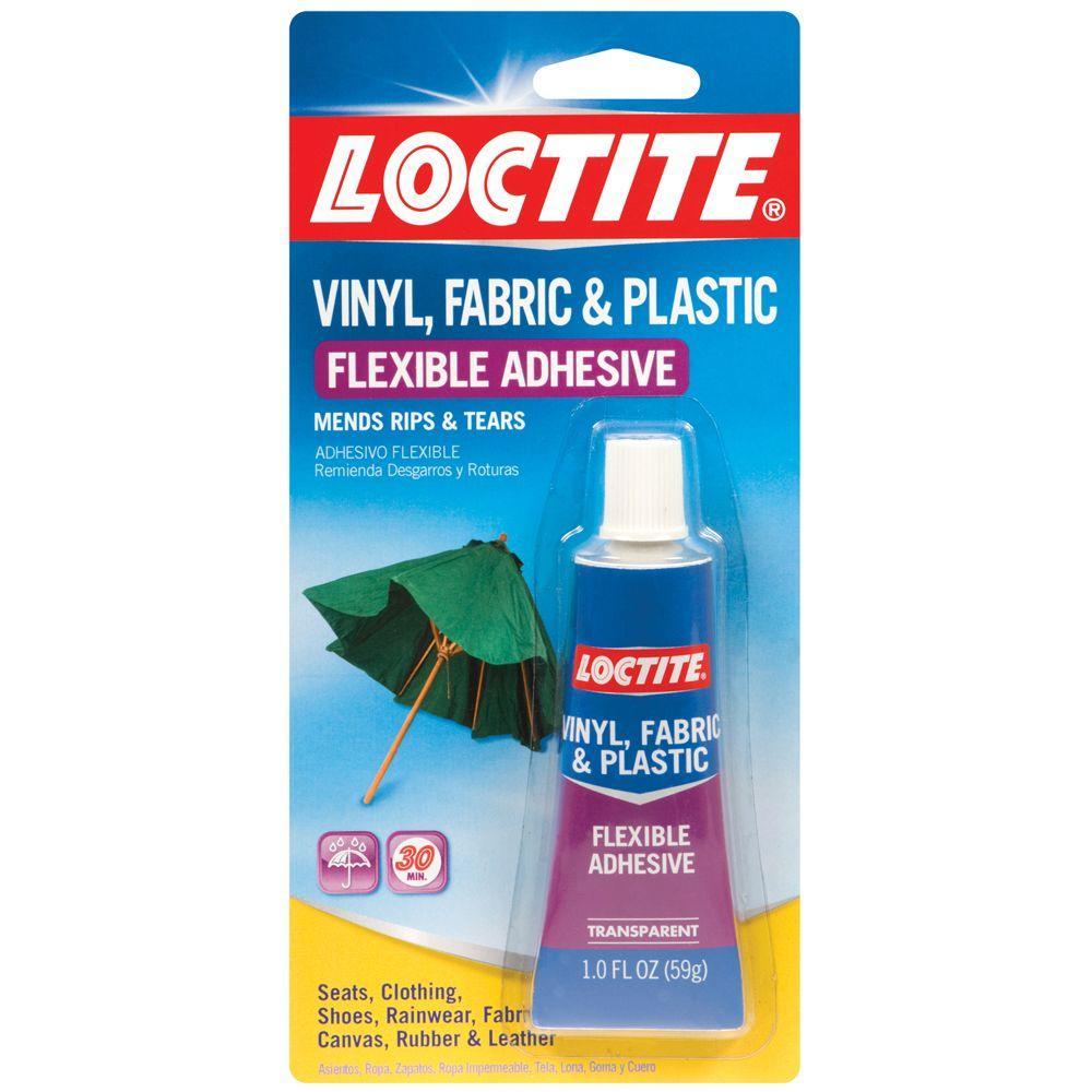 Vinyl, Fabric and Plastic 1 fl. oz. Flexible Adhesive