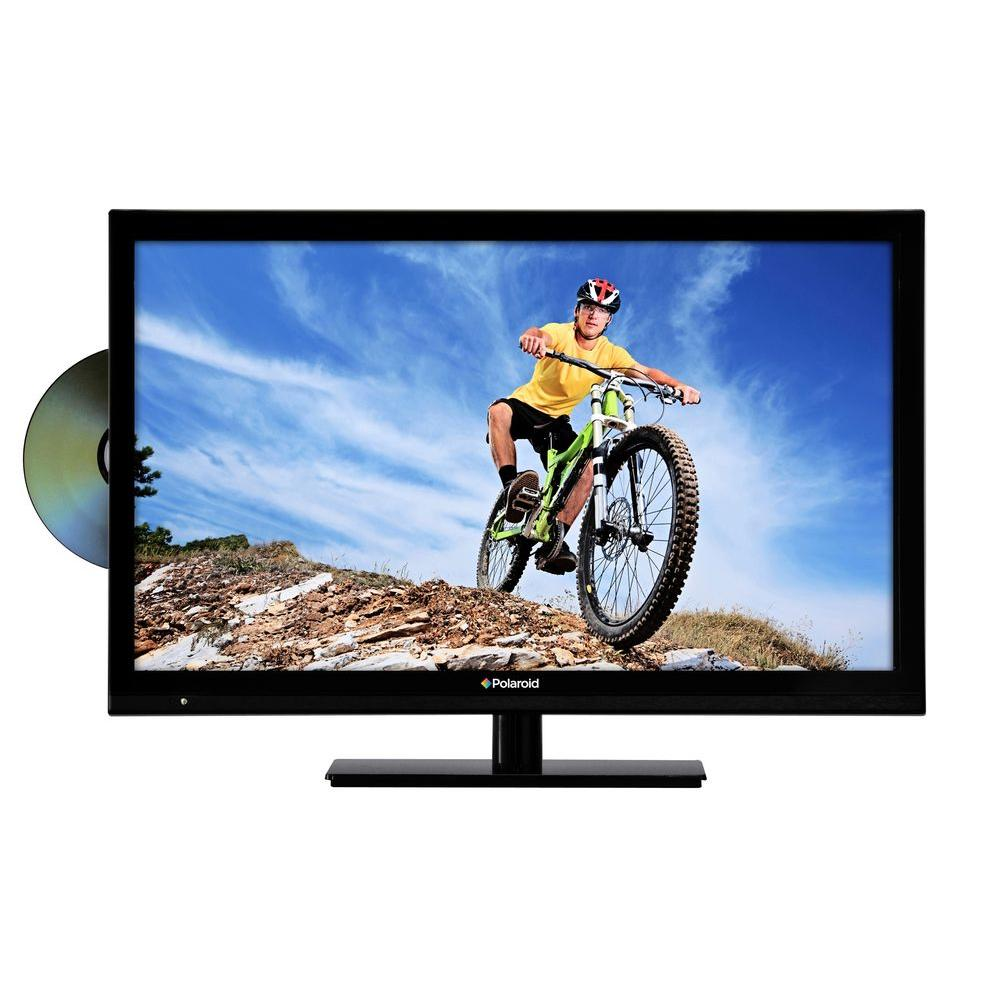Polaroid 22 in. Widescreen Class LED 1080p 60Hz HDTV with Built-In DVD Player