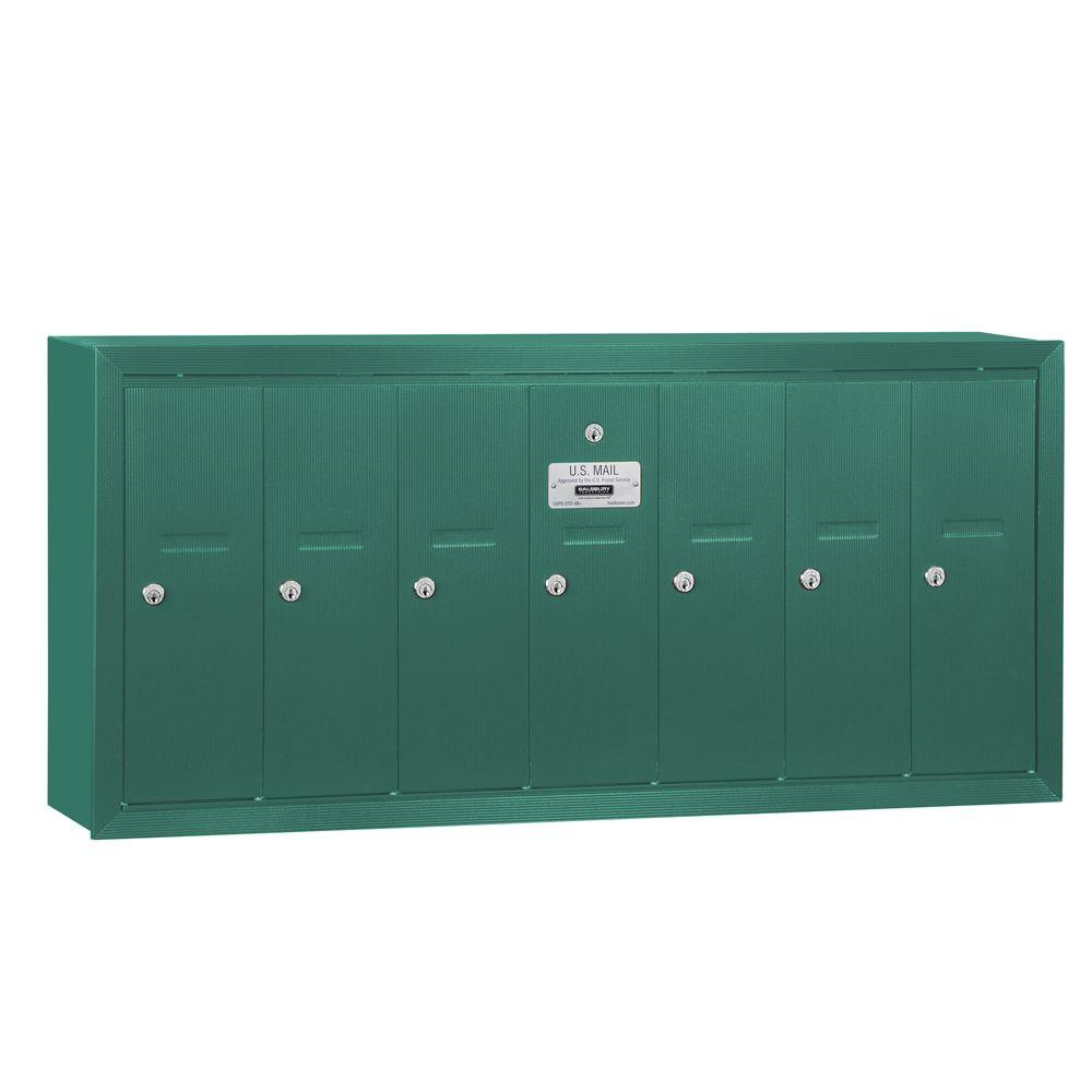 Salsbury Industries Green Surface-Mounted Usps Access Ver...