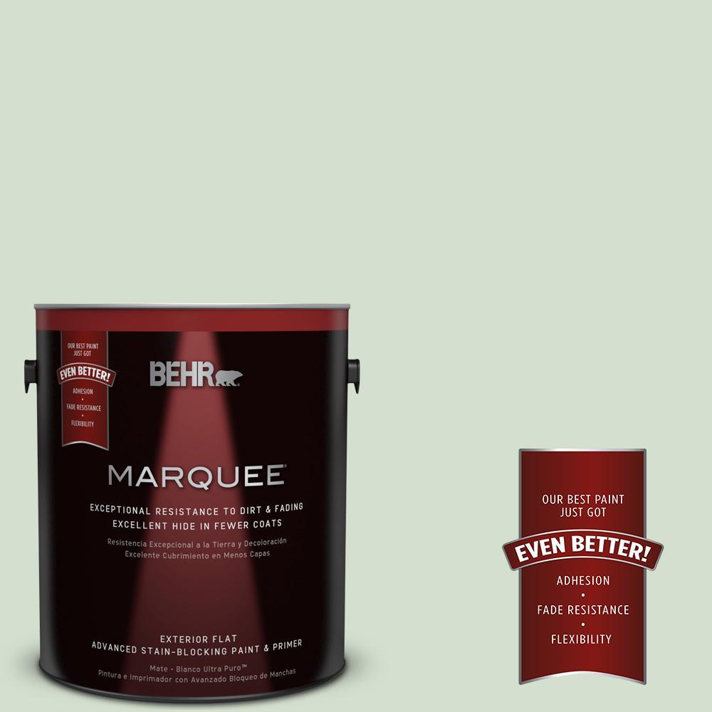 BEHR MARQUEE 1-gal. #440E-2 Herbal Mist Flat Exterior Paint