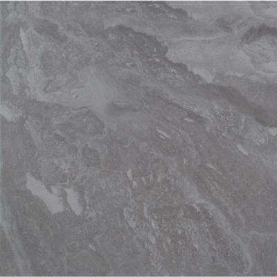 Alicante Grigio 18 in. x 18 in. Matte Porcelain Floor and Wall Tile (15.75 sq. ft. / case)