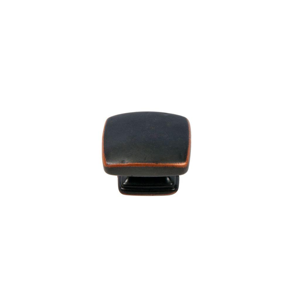 SumnerStreetHomeHardware Sumner Street Home Hardware Grayson 1-1/4 in. Oil Rubbed Bronze Rectangle Cabinet Knob