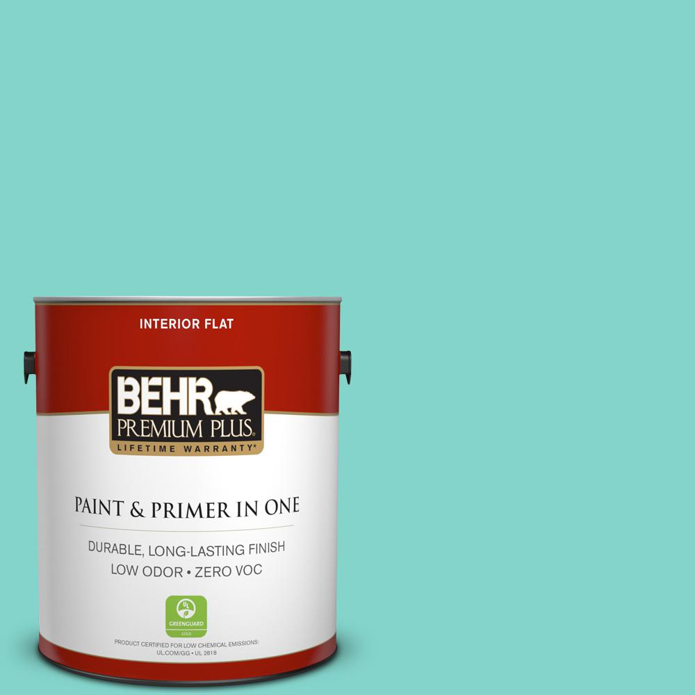 BEHR Premium Plus 1-gal. Home Decorators Collection Island Oasis Flat Interior Paint