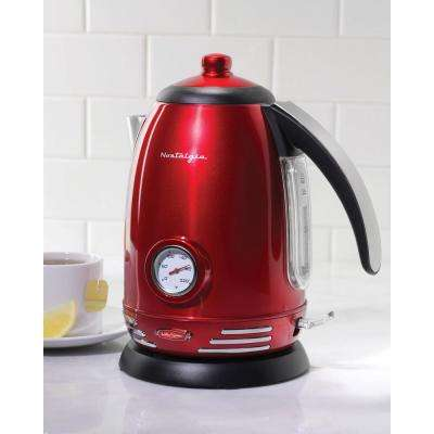 Retro 7-Cup Electric Kettle