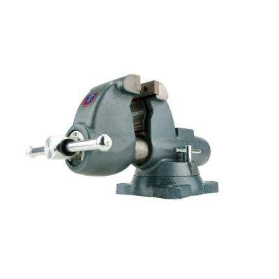 C-3 6 in. Combination Pipe and Bench Vise with Swivel Base, 6-10/16 in. Throat Depth