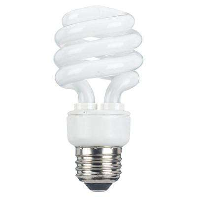 2 in. E25 13-Watt Cool White (2700K) Fluorescent Light Bulb