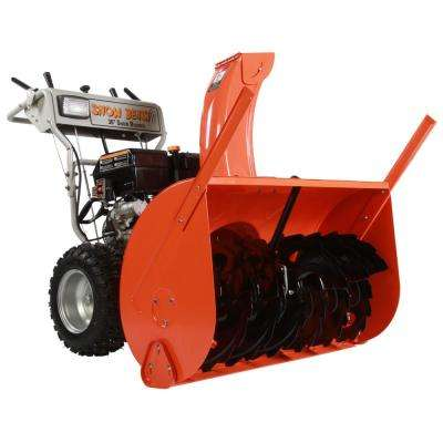 36 in. Commercial 420cc Gas Electric Start 2-Stage Snow Blower Bonus Drift Cutters and Clean-Out Tool