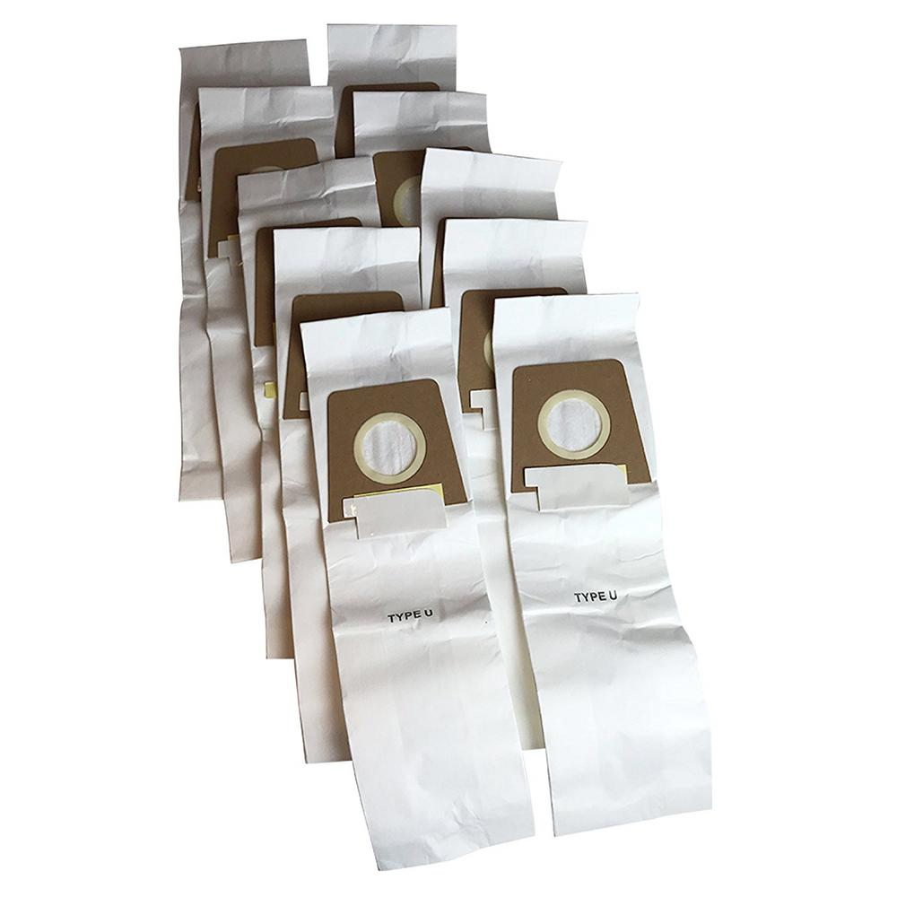 Think Crucial Replacement Style U Bags Fits Dirt Devil Compatible With Part 3920750001 And 300027064 10 Pack