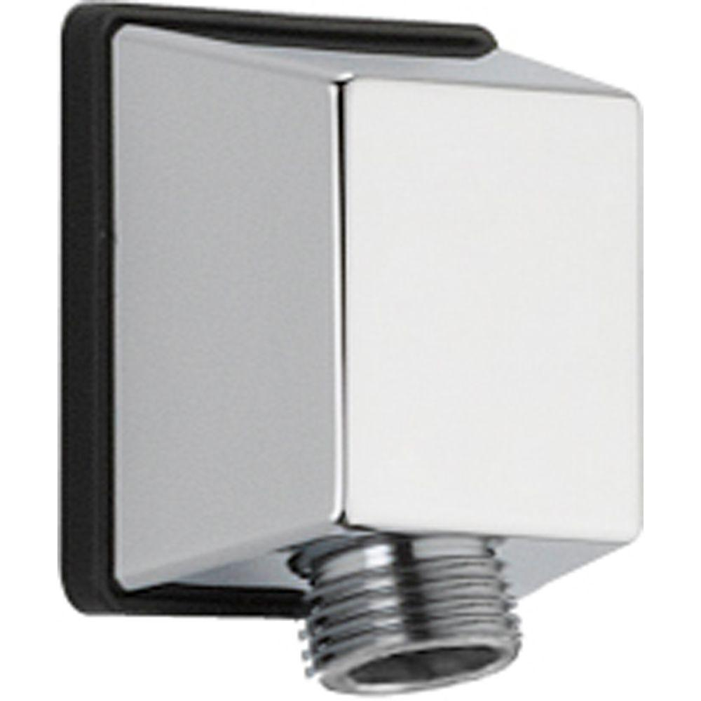 Delta 1/2 in. IPS Handshower Wall Supply Elbow in Chrome-50570 - The ...