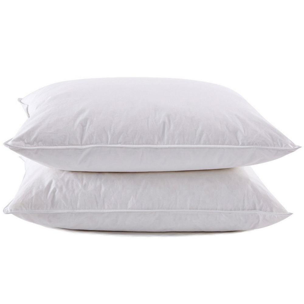 Pure Down Puredown Goose Down Standard Pillow Set Of 2 Pd