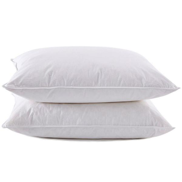 Pure Down Puredown White Goose Feather And Down Pillow In