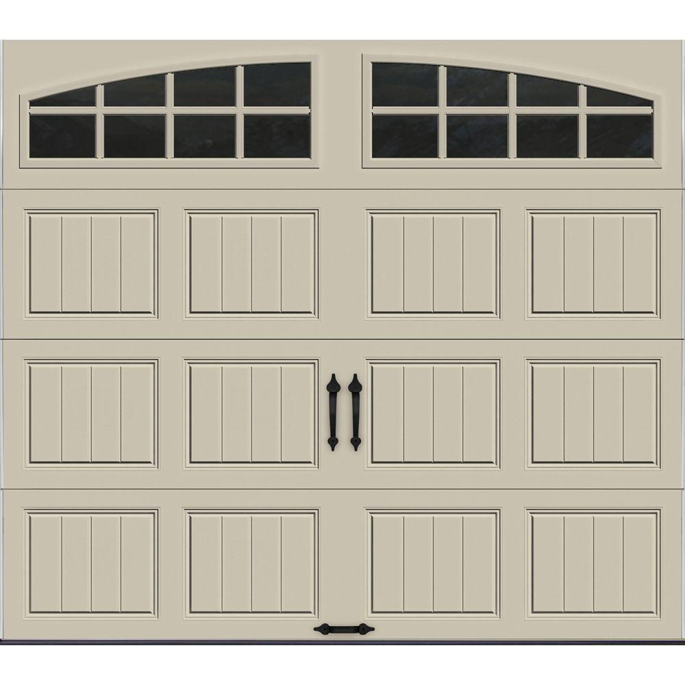 desert garage doorClopay Gallery Collection 8 ft x 7 ft 65 RValue Insulated