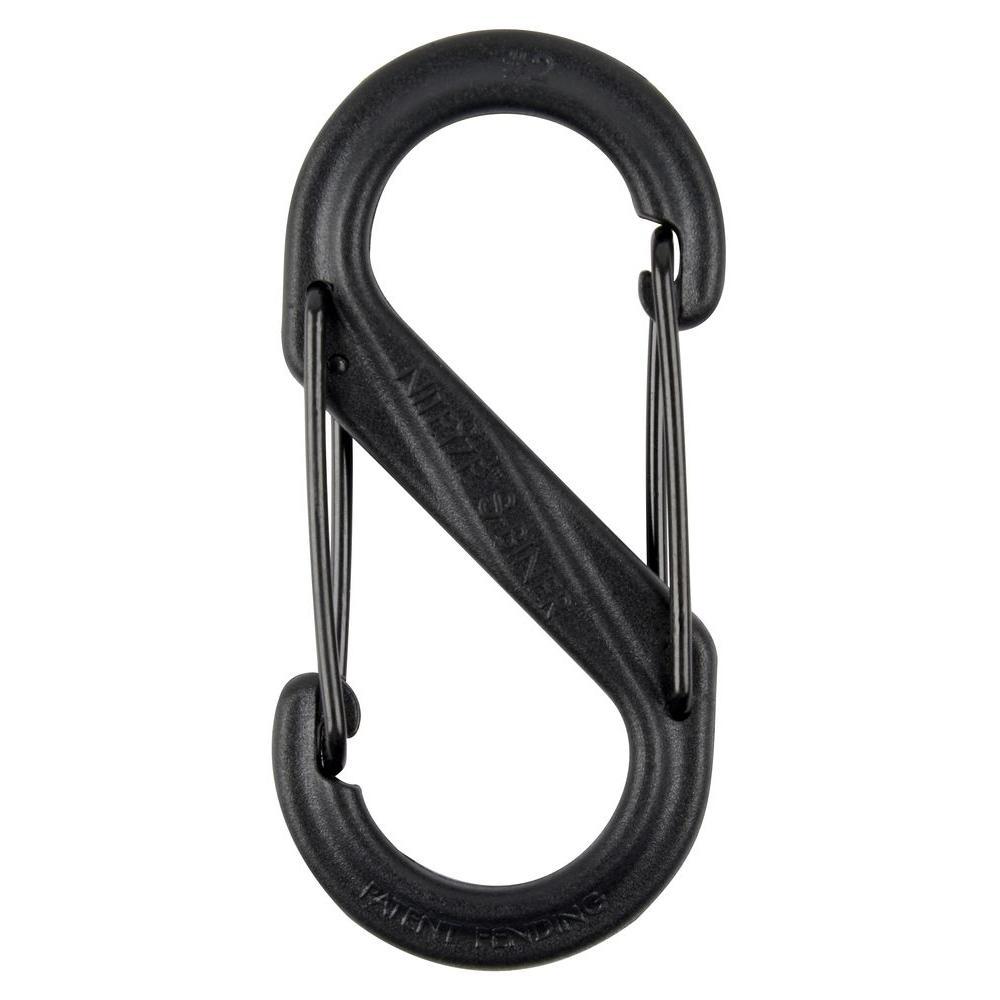 #2 Black Plastic S-Biner