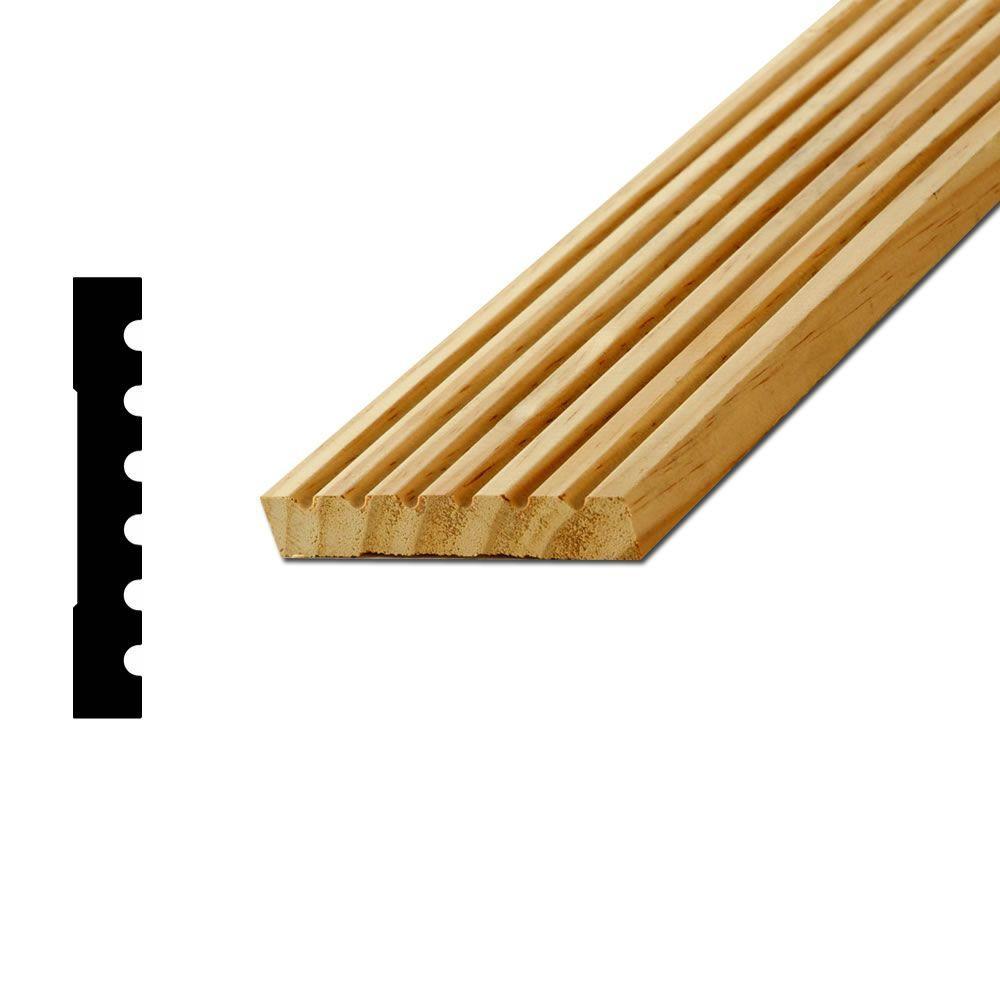 American Wood Moulding 285 Pom 9 16 In X 3 1 2 In Pine