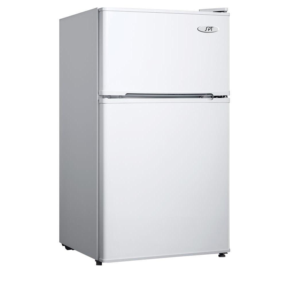 Spt 3 5 Cu Ft Mini Refrigerator In White Rf 354w The