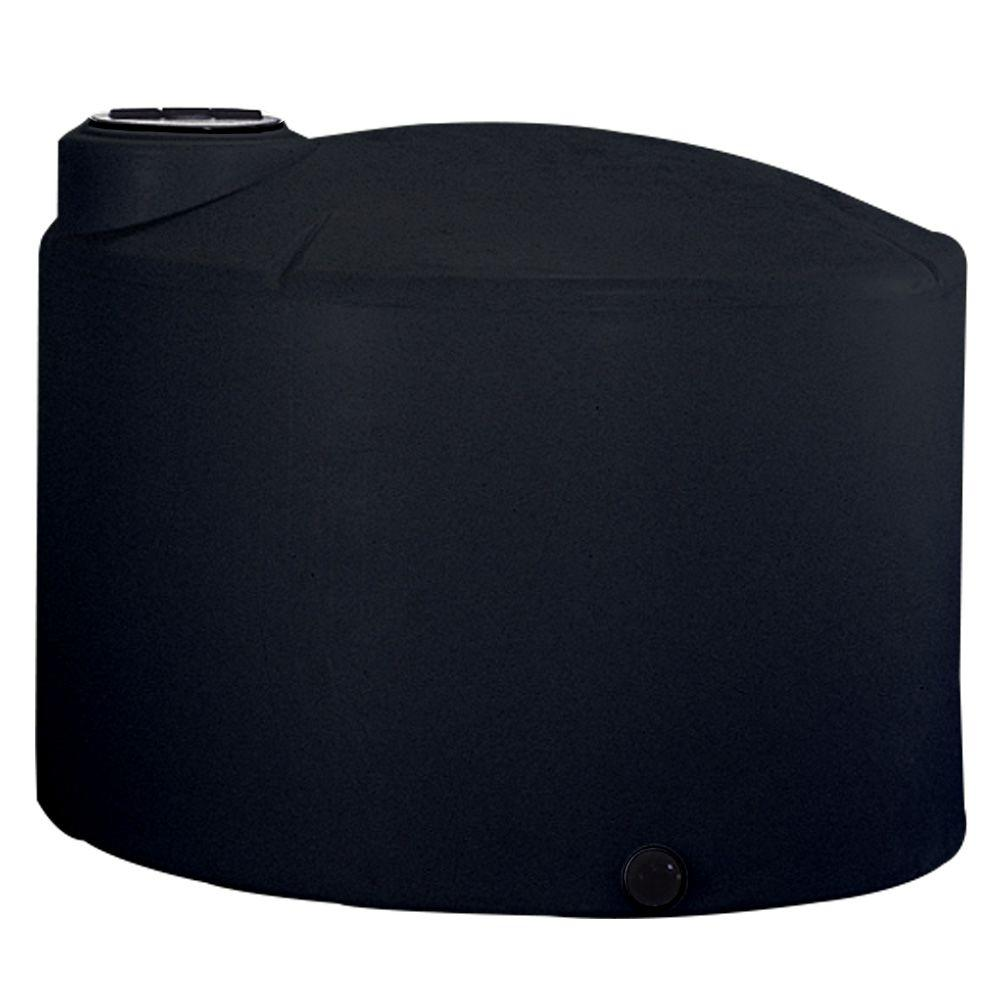 1550 Gal. Vertical Water Tank in Black