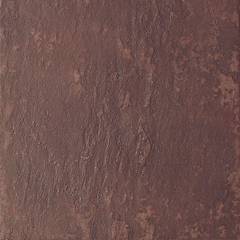 Continental Slate Indian Red 6 in. x 6 in. Porcelain Floor