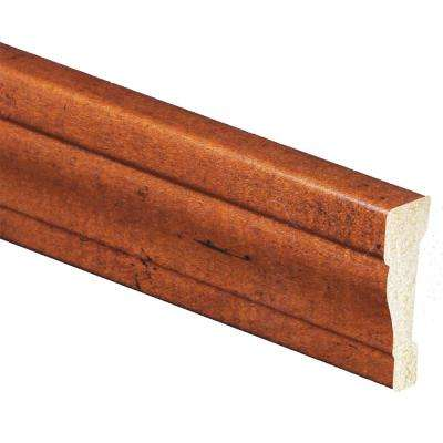 11/16 in. x 2-3/8 in. x 84 in. Polystyrene Whiskey Maple Casing Moulding (Pack of 5)