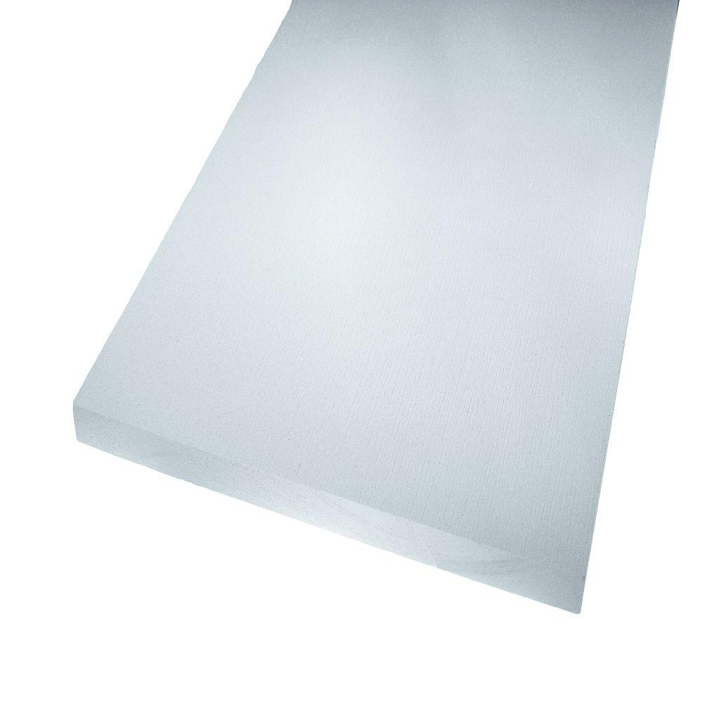 AZEK Trim 3/8 in  x 4 ft  x 8 ft  PVC Board