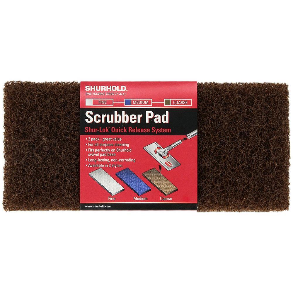 Coarse Scrubber Pad (2 Pack)
