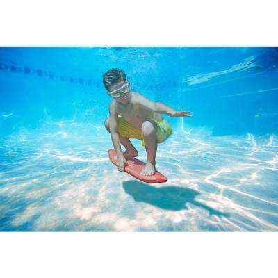 Underwater Surf Board in Red