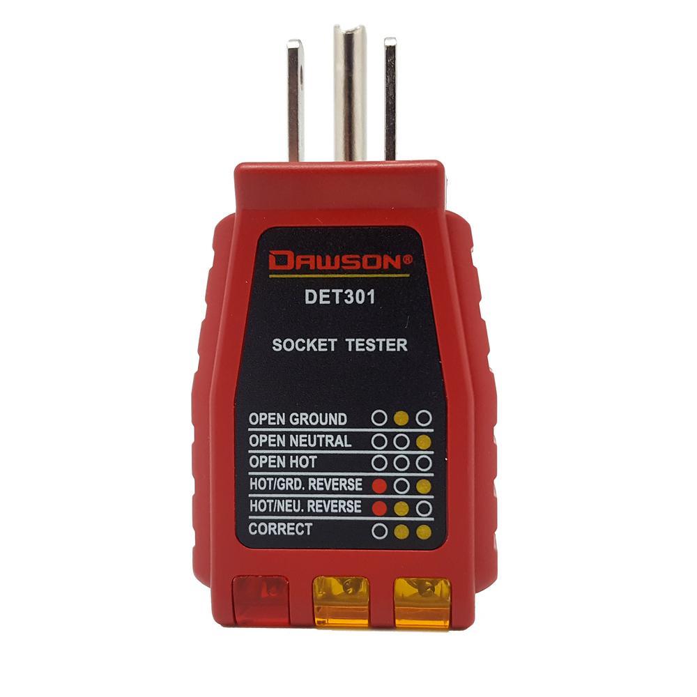Dawson 3-Wire Socket Tester