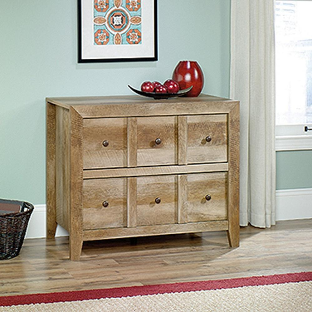 Sauder dakota pass craftsman oak storage console table 418104 sauder dakota pass craftsman oak storage console table geotapseo Image collections