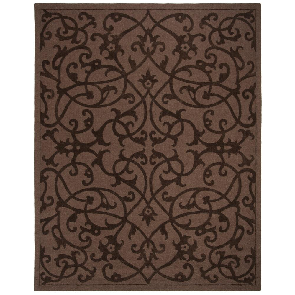 Safavieh Impressions Brown 8 Ft 3 In X 11 Ft Area Rug Im341a 9