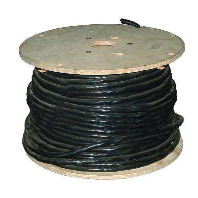 500 ft. 6/3 Black Stranded CU W/G Tray Cable