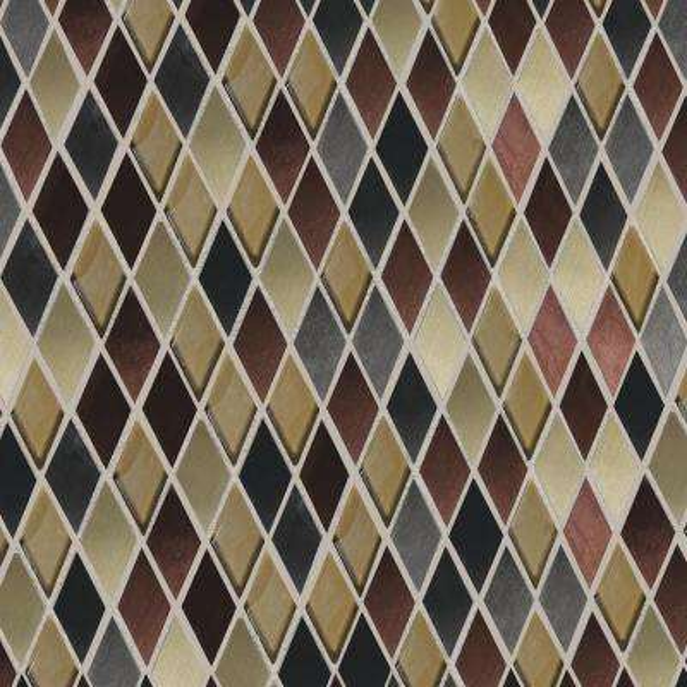 Stone Decor Diamond Cut 12-5/8 in. x 13-3/8 in. x 10mm Stone Mosaic Tile
