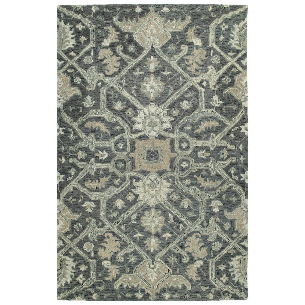 Chancellor Graphite 4 ft. x 6 ft. Area Rug