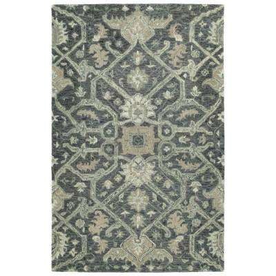 Chancellor Graphite 8 ft. x 10 ft. Area Rug