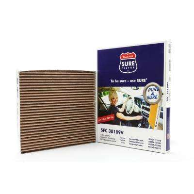 Replacement Antibacterial Cabin Air Filter for Wix 24900 Purolator C38188