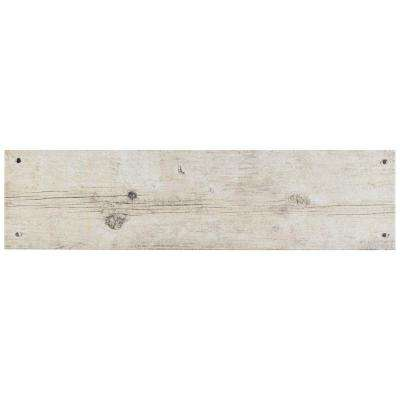 Cottage White 5-7/8 in. x 23-5/8 in. Ceramic Floor and Wall Tile (12.2 sq. ft. / case)