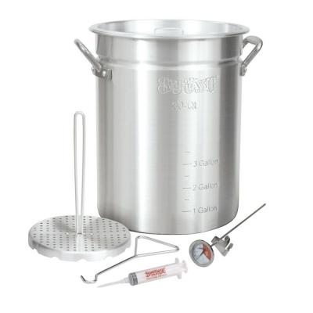 30 Qt. Aluminum Turkey Fryer Set
