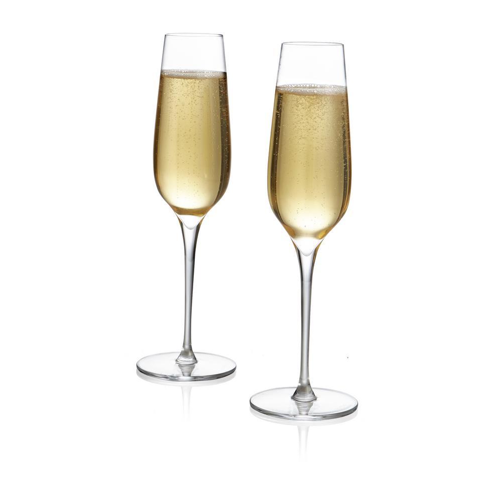 Vie 9 oz. Champagne Flute (2-Pack)