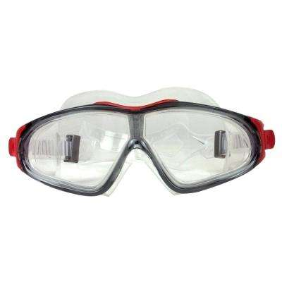 EZ Fit DLX Sport Swimming Pool Goggles in Grey