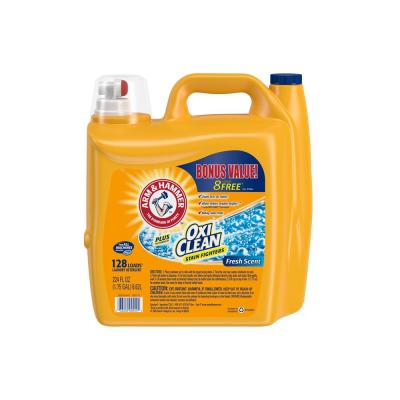 224 oz. Fresh Scent Liquid Laundry Detergent with OxiClean Stain Fighters (128 Loads)